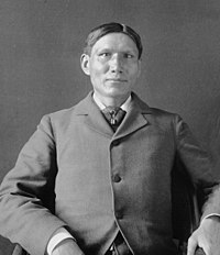 Charles Eastman was one of the first Native Americans to become certified as a medical doctor, after he graduated from Boston University.