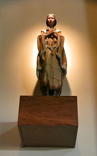 Saint Kateri Tekakwitha, the patron of ecologists, exiles, and orphans, was canonized by the Catholic Church.