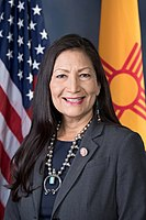 Deb Haaland became one of the first two Native American women elected to the U.S. House of Representatives.