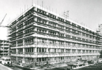 Library Under Construction 1960's