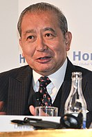 David Li GBM, GBS, OBE, JP, Chairman and Chief Executive of the Bank of East Asia