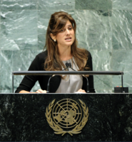 Princess Dina Mohammad Khalifeh, President of the Union for International Cancer Control