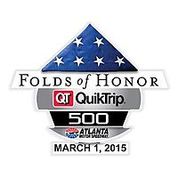 2015 Folds of Honor QuikTrip 500