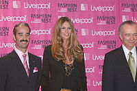 Macpherson in September 2008 at Fashion Fest
