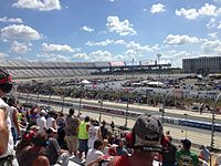The Buckle Up 200 at Dover International Speedway in May