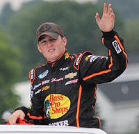 Ty Dillon finished third in the championship, 18 points behind Buescher.