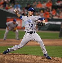 Zack Greinke did not allow an earned run in the first 24 innings of the 2009 season.