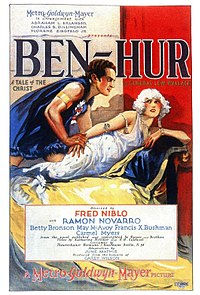 Theatrical release poster for Ben-Hur: A Tale of the Christ (1925)