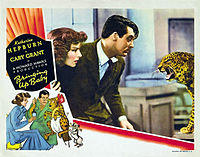 Katharine Hepburn's last film for RKO was a bomb. Today, Bringing Up Baby (1938) is regarded as one of the finest screwball comedies.