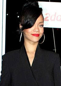 """Rihanna had a 10-week run at the top of the UK Singles Chart, along with Jay-Z, with """"Umbrella""""."""