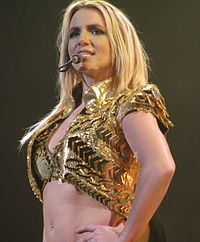 """Britney Spears hit the top spot with """"Oops!... I Did It Again"""" and """"Born to Make You Happy"""" in 2000, and with """"Toxic"""" and """"Everytime"""" in 2004."""