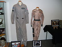 Uniforms from the film at Stockholm International Fairs 2011