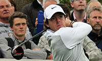 McIlroy during a practice day for the BMW PGA Championship in 2013 at Wentworth