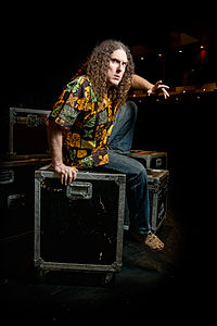 Yankovic, photographed by Kyle Cassidy
