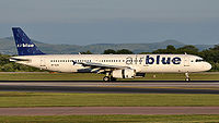 Airblue Flight 202, registration AP-BJB crashed as on 28 July 2010. The aircraft is seen here at Manchester Airport on June 24, 2010, 1 month before.