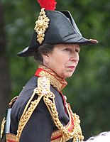 The Princess Royal is one of the few women in the royal family to wear a military uniform