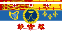 Flag of the Princess Royal for use in Canada