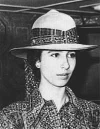 Princess Anne at Massawa, Ethiopia, in February 1973