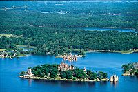 Boldt Castle in the Thousand Islands