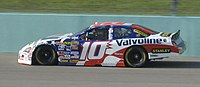 Patrick Carpentier practicing for the 2007 Ford 400 at Homestead-Miami Speedway