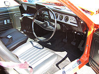 Interior of the only 1970 Rambler Gremlin assembled by AMI