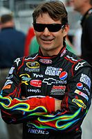 Jeff Gordon finished third in the championship in a 1-2-3 sweep for Hendrick Motorsports in the standings in 2009.