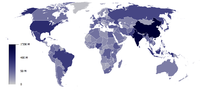 List of countries by population in 2005