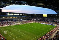 The 2010 season also brought the opening of the New York Red Bulls' soccer-specific stadium, Red Bull Arena.