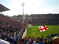 Montreal Impact hosting D.C. United (August 2012).