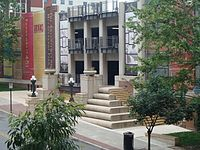 The central branch of the Kansas City Public Library.
