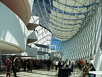 A view of the Brandmeyer Great Hall at the Kauffman Center for the Performing Arts.