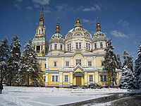 Ascension Cathedral in Almaty