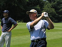 Els at Westchester in 2004
