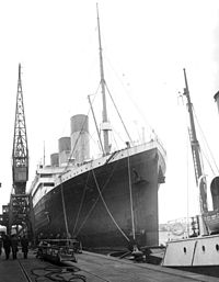 Olympic at Southampton in 1929