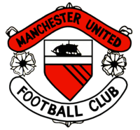 Manchester United badge in the 1960s