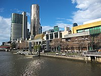 The Crown Casino and Entertainment Complex contributes AU$2 billion to the Victorian economy annually.