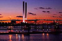 The Bolte Bridge is part of the CityLink tollway system.