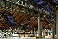 Situated on the City Loop, Southern Cross station is Victoria's main hub for regional and interstate trains.