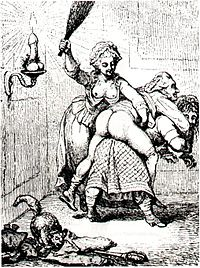 Copper engraving, about 1780