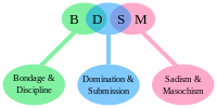The BDSM initialism