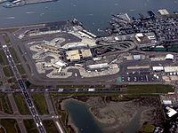 Logan International Airport in Boston is the largest airport in New England in terms of passenger volume