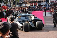 The Tumbler at the film's European premiere in Leicester Square, London