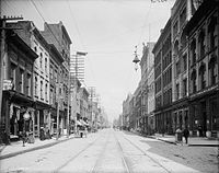 Gay Street in the early 1900s