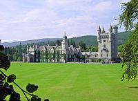 Balmoral Castle, where Johnston met with Queen Elizabeth II prior to his installation as governor general