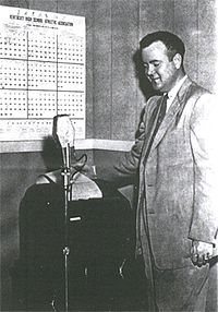Ray Mofield, general manager of The Radio Center, The Voice of Murray State, helped develop funding for a radio station in the university budget.