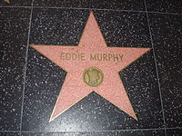 Murphy's star on the Hollywood Walk of Fame