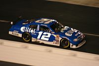 Ryan Newman in the No. 12 at Bristol Motor Speedway in 2007