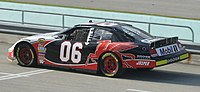 Sam Hornish, Jr. in the No. 06 at the 2007 Ford 400