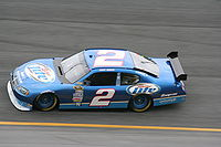 The No. 2 car in 2008 with Kurt Busch driving