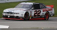 The No. 22 won the 2013 owner's championship. Pictured is A. J. Allmendinger's winning car at Road America.